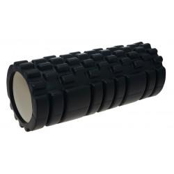 Life Fit Foam Roller A01 33x14cm Μαύρο
