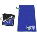 Life Fit Quick-Dry Towel Πετσέτα πάγκου RUC-20 Σκούρο Μπλε